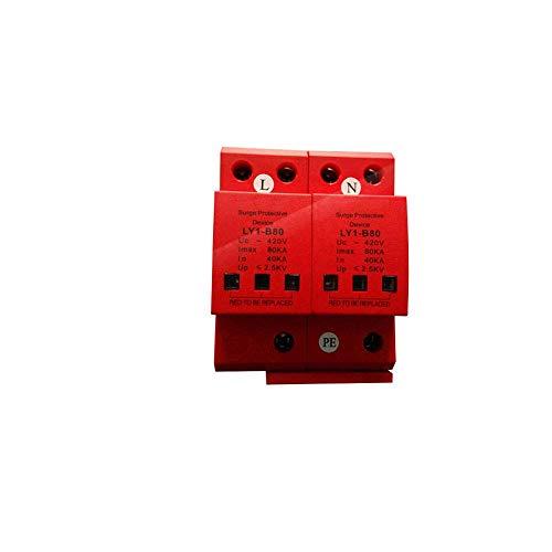 Ly6-80 420V 80ka 2-polig överspänningsskyddsanordning Kinesisk fotovoltaisk överspänningsavledare Pris