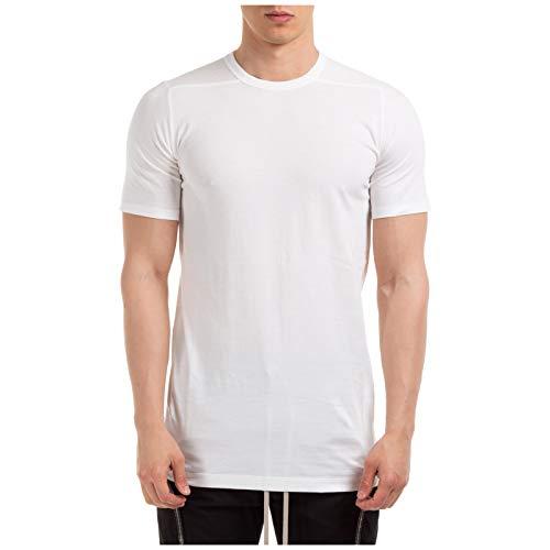 Rick Owens Hombre Camiseta Bianco XS