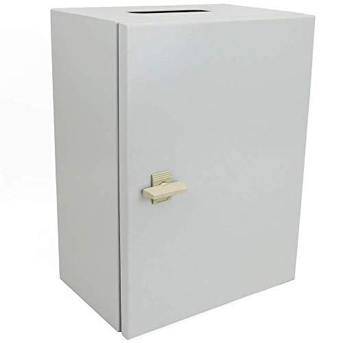 baratos y buenos BeMatik – Caja de conexiones de metal IP65 para montaje en pared … calidad