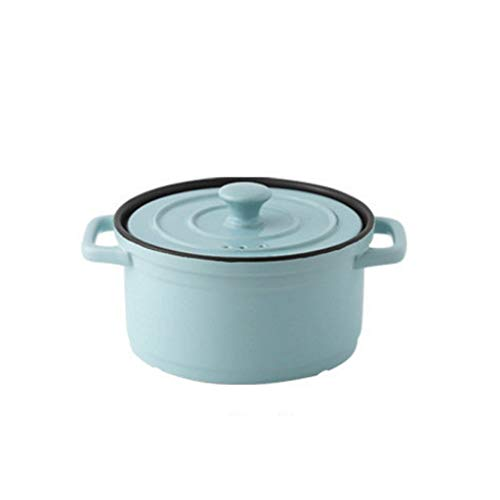 ZLDGYG Olla de Sopa para estofado de cerámica de Alta Temperatura, Olla de Sopa de Llama Abierta para el hogar, Olla de Cocina de cerámica para Suministros de Cocina