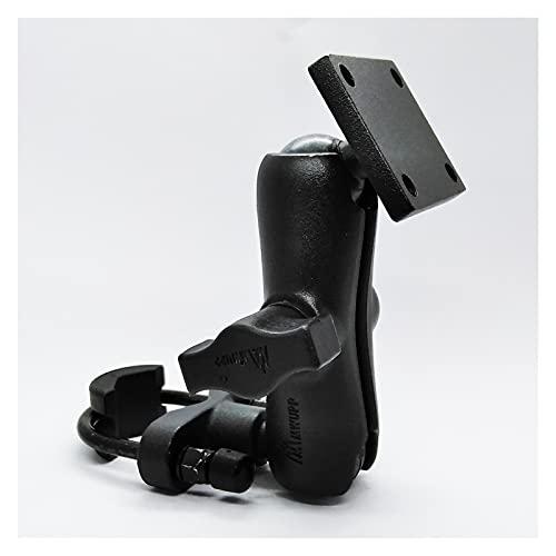 GIS Montaje de la Manillar de la Motocicleta de aleación de Aluminio con un patrón de Agujero de amperios estándar Adecuado para Garmin Zumo, Tomtom Rider GPS Navigator (Color : 9 CM Socket Arm)