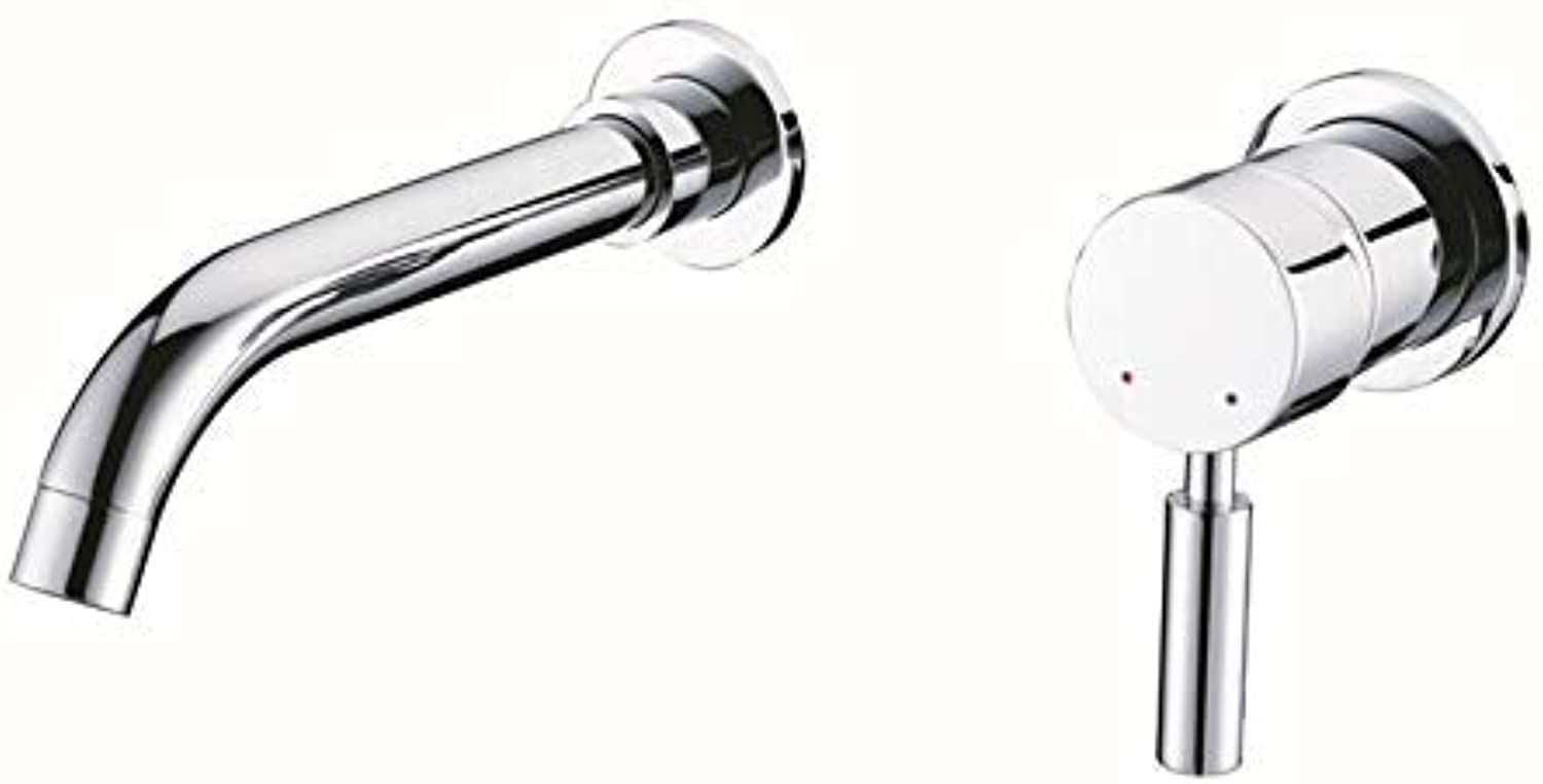 XINXI HOME Bathroom Sink Taps Concealed Hot And Cold Water Basin Faucet Split Separation Faucet