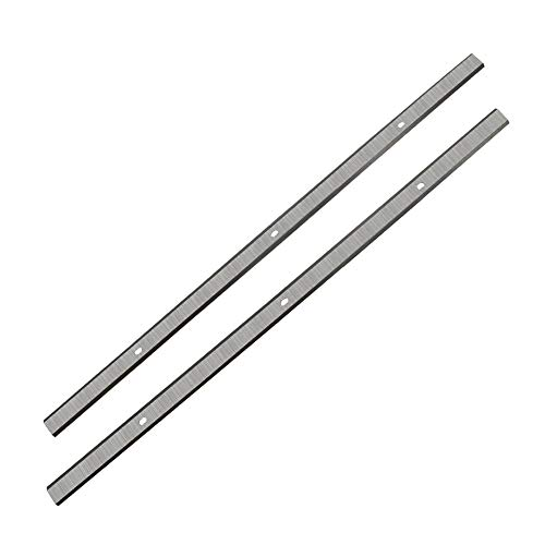 JTEX 12.5 Inch Planer Blades Knives for Delta 22-560 22-562 22-565 TP305 TP400LS, Bauer 1621E-B, Wen 6550T, Craftsman 21758, Porter Cable PC305TP - Set of 2