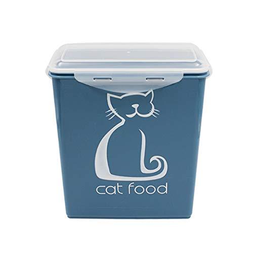 Jlxl Almacenamiento De Comida para Perros, 5.8 L Caja De Almacenamiento En Seco para Alimentos De Cat