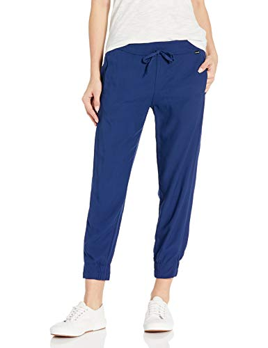 Hurley Women#039s Apparel Women#039s Beach Jogger Pants Blue Void L