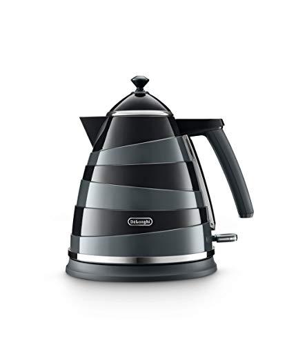 DeLonghi KBA3001.BK Avvolta waterkoker, 1,7 l, 3000 W, zwart