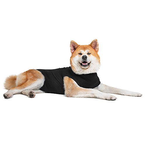 Suitical Recovery Suit Hund, XXL, Schwarz