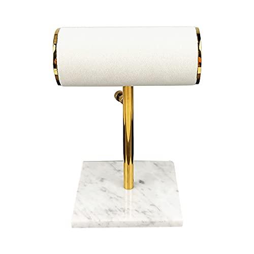 Pulsera de terciopelo, brazalete, soporte de exhibición de reloj, soporte de joyería, barra en T, estante, tocador, organizador superior, regalo para mujeres, caja de recuerdo del día de San Valentín