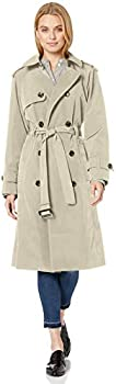 London Fog Women's 3/4 Length Double-Breasted Trench Coat (various sizes)