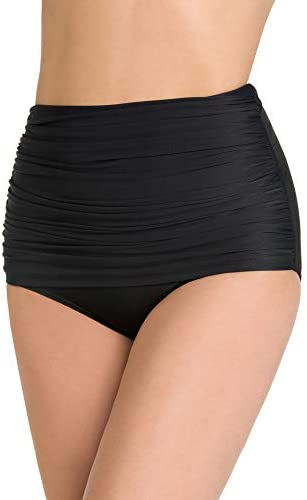Miraclesuit Women s Swimwear Solid Norma Jean Retro Style Tummy Control Bathing Suit Bottom product image