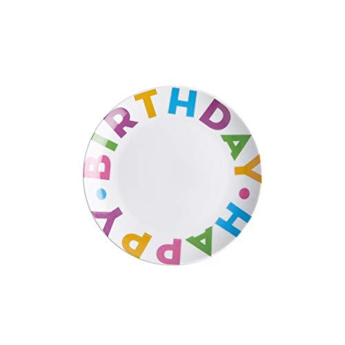 BUTLERS Happy Birthday Teller aus Porzellan mit Aufschrift