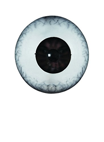 Disguise Giant Eyeball Mask Costume Accessory, White/Black, One Size Adult