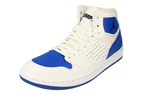 Nike Air Jordan Access Herren Basketball Trainers AR3762 Sneakers Schuhe (UK 7.5 US 8.5 EU 42, White Black Game royal 104)