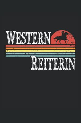 Western Reiter: Liniertes Notizheft, Notizbuch, Tagebuch, ToDo, Aufgabenbuch, Aufgabenheft, Schreibheft (15,24 x 22,86 cm;ca. A5) 120 Seiten. Geschenk ... von Pferden, Pferd, reiten, Pferdebesitzer.