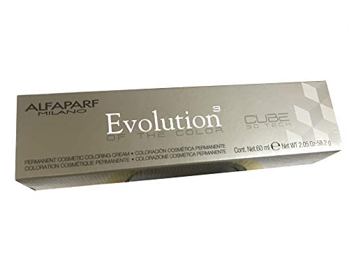 Alfaparf Evolution Cube 3D Tech Permanent Hair Color 5.53 Light Mahogany Golden Brown 2.05 oz by Alfaparf Milano by Alfaparf Milano