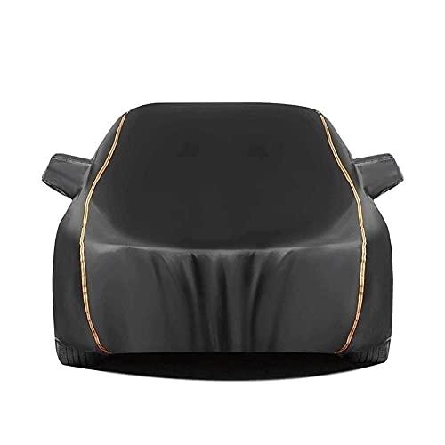 Funda Coche Universal Cubierta de coche compatible con jaguar XK XE Extremo derecho de la cremallera de la cremallera de la cremallera Protección solar a prueba de viento a prueba de viento a prueba d