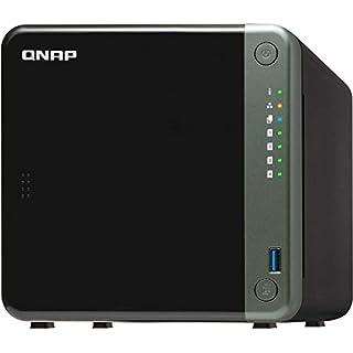QNAP TS-453D-4G 4 Bay Desktop NAS Gehäuse - Netzwerkspeicher mit 2.5GbE Konnektivität, 4GB RAM, Intel Celeron Quad-Core, 2.0 GHz Prozessor - für Profis, unterstützt PCIe-Erweiterung (B0897C8XTT)   Amazon price tracker / tracking, Amazon price history charts, Amazon price watches, Amazon price drop alerts