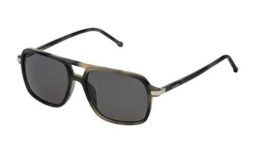 Loewe SLW973M5596NP Gafas de sol, Matte Grey Havana, 55 para Mujer