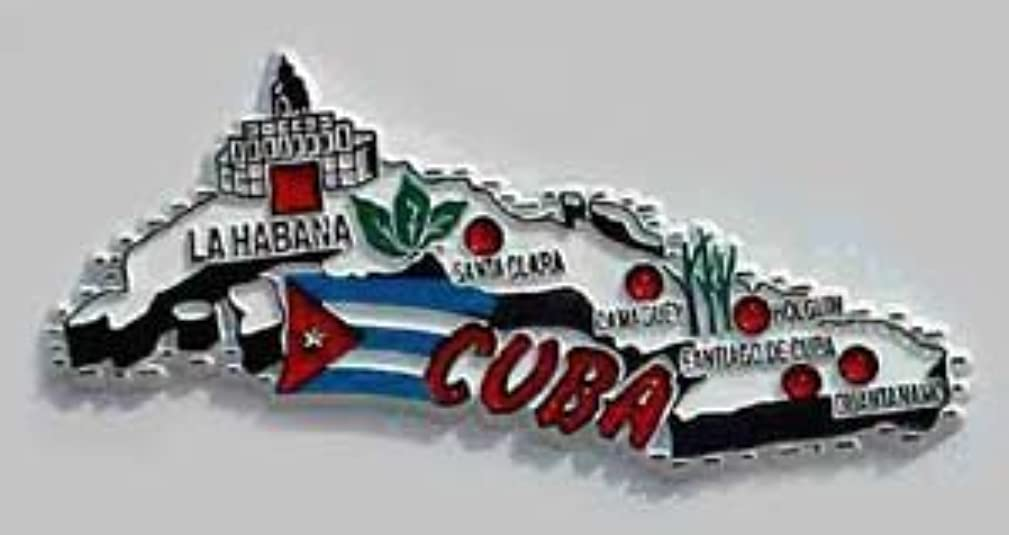 Flagline Cuba - Country Magnet