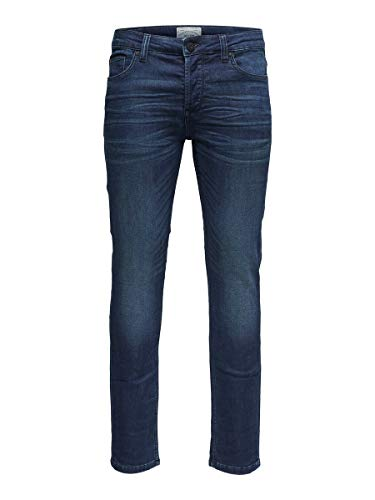 ONLY & SONS Herren Slim Fit Jeans ONSLoom Jog Blue 2932Blue Denim