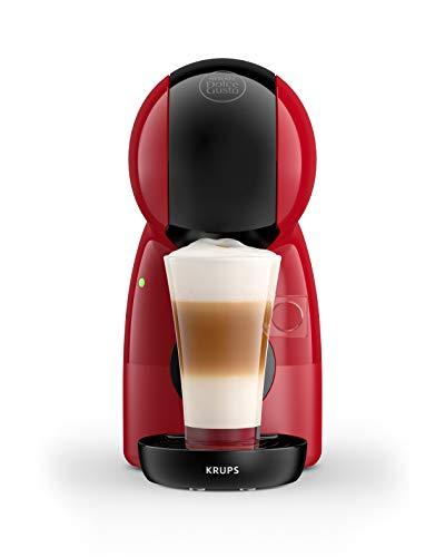 Krups Nescafé Dolce Gusto Piccolo XSrouge, Machine à café ultra compact, Cafetière à dosette,Multi-boissons, Intuitive, Pression 15 bars, Mode éco KP1A3510