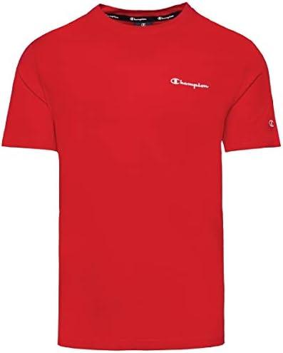 Camiseta Champion Crewneck para Hombre Rojo - 214153-RS046