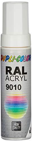 Dupli-Color 677250 Lackstifte, 12 ml, DS 9010 Reinweiß Glanz