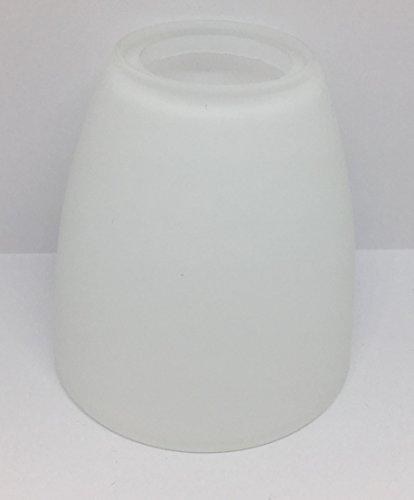 Lampenglas Lampenschirm Ersatzglas E14 opalfarbig 75mm weiss G8222-01
