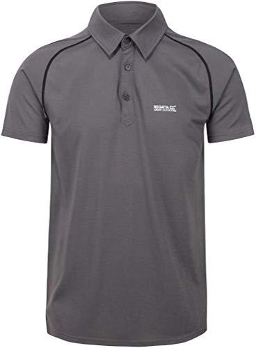 Kalter Polo sport manches courtes, respirant et sèche rapidement - Homme - Magnet - Small