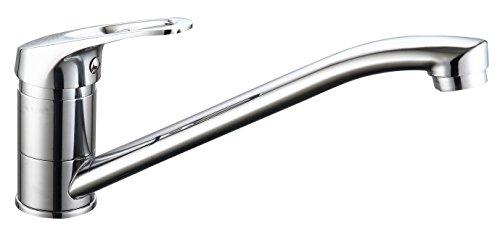 DP Grifería - Grifo monomando de fregadero horizontal modelo Escalonia
