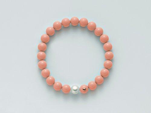 Miluna bracciale Donna in oro rosa e Perle codice: PBR2085