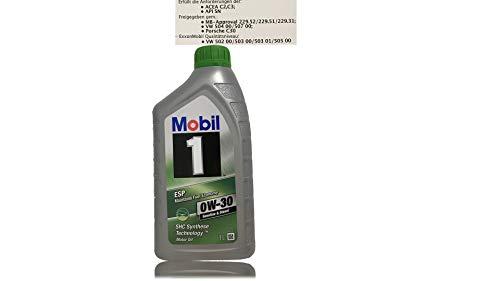 Preisvergleich Produktbild Mobil 1 ESP 0W-30 Motoröl ACEA C2, C3 Freigegeben gem. MB Approval 229.31. / 229.51 / 229.52