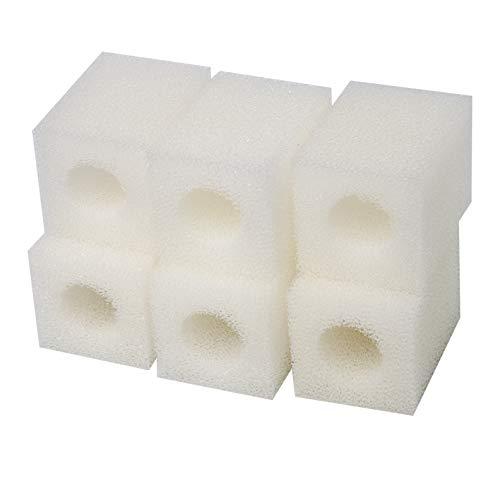 Sin Marca Esponja de filtro de cartucho compatible ajusta Eheim 2008 Pickup Filtro 2617080 (6 piezas) ✅