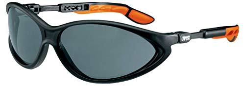 Uvex Cybric Gafas Protectoras - Seguridad Trabajo - Lentes Oscuros Anti-rayaduras y Anti-vaho