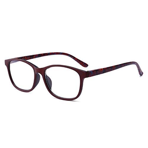 IOSHAPO Leesbril Veerscharnier Voor Heren en Dames Mode-bril voor het Lezen van +1.0 tot +4.0