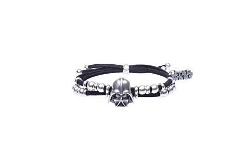 Armband Wildlederimitat mit Helm Star Wars Darth Vader (Lucas Film Ltd) Lizenzprodukt
