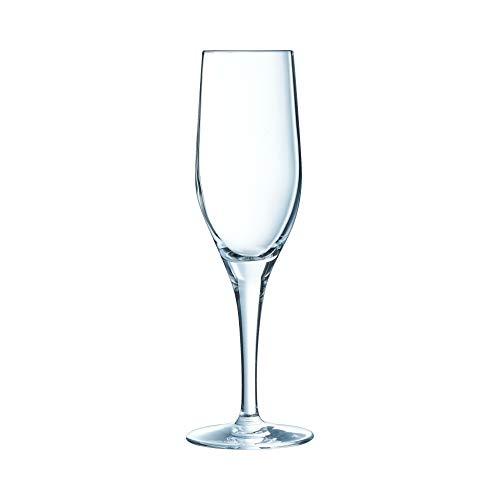Chef & Sommelier ARC E7700 Sensation Exalt Sektkelch, Sektglas, Krysta Kristallglas, 190 milliliters, transparent