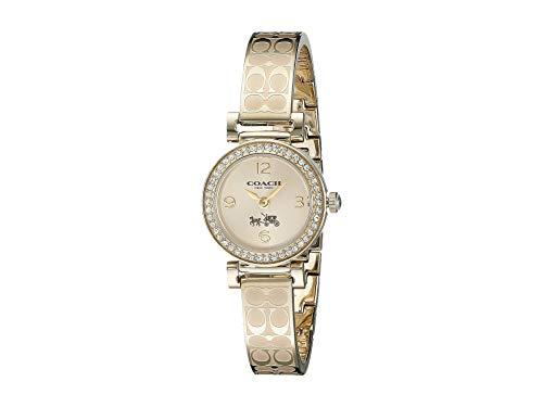 COACH Madison Fashion Bangle Watch Gold/Gold One Size