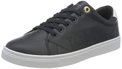 Tommy Hilfiger Damen Th Iconic Cupsole Sneaker, Wüstenhimmel, 41 EU
