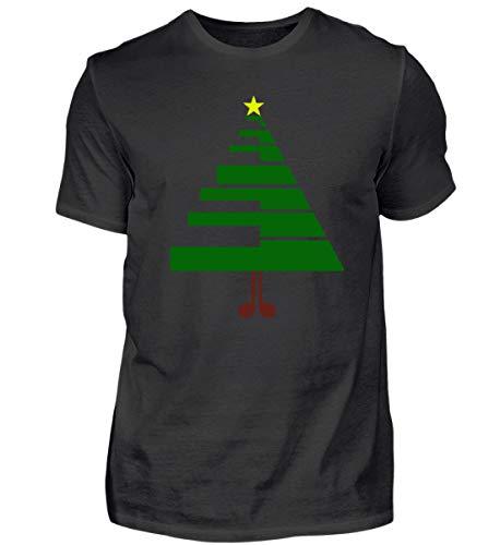 Der Weihnachtsbaum für Musiker Pianisten - Herren Shirt