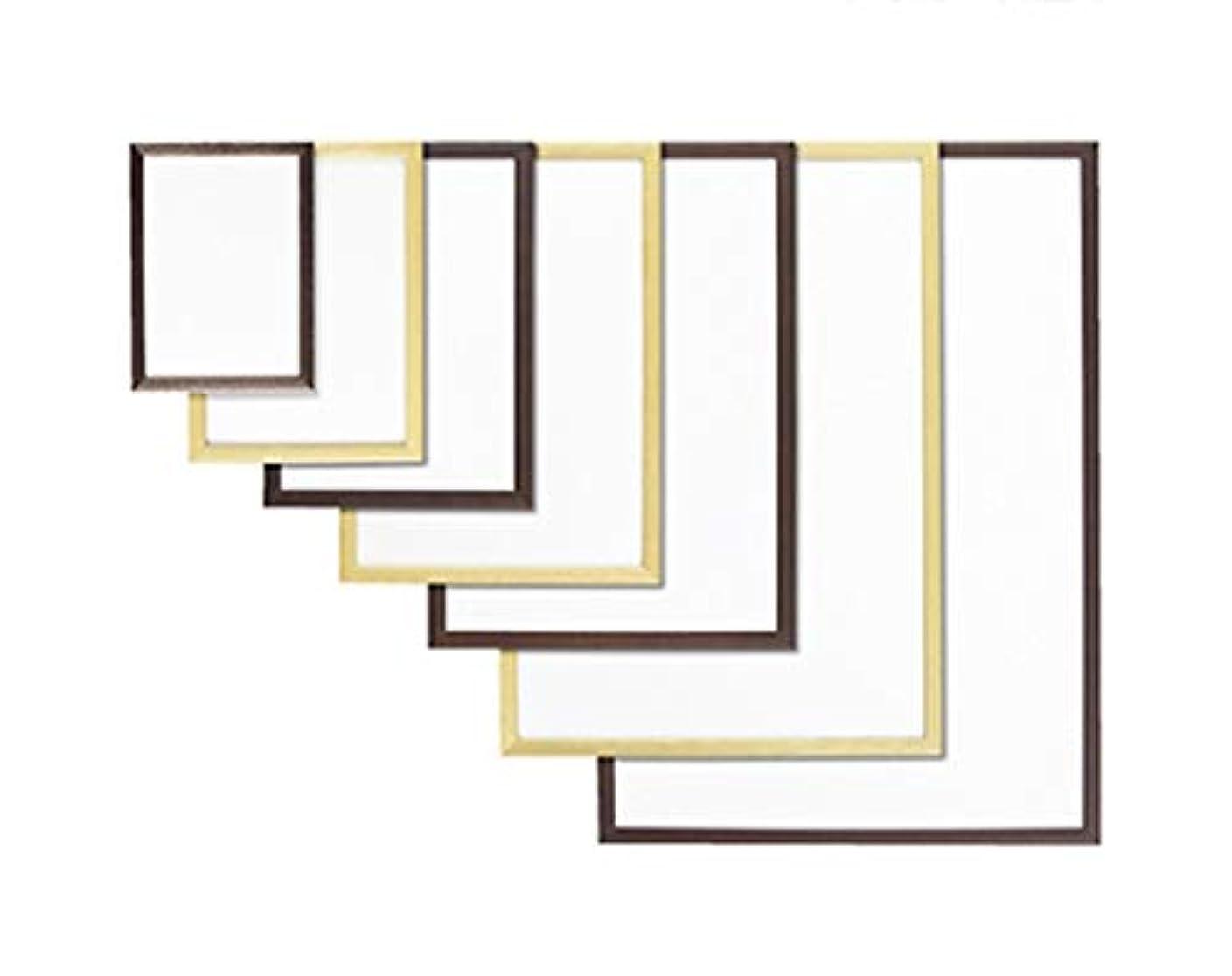 腰より多い照らすアズワン 木製ポップフレーム ナチュラル A1 入数3枚/61-7245-11