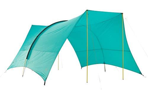 Grand Canyon TAHUTA Shelter 4 - Bâche/Sunsail 500 x 400 cm - Forme rectangulaire, UV50+, étanche - Blue Grass (Bleu)