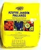 Azufre en polvo para huerta y jardinería. 500 gr