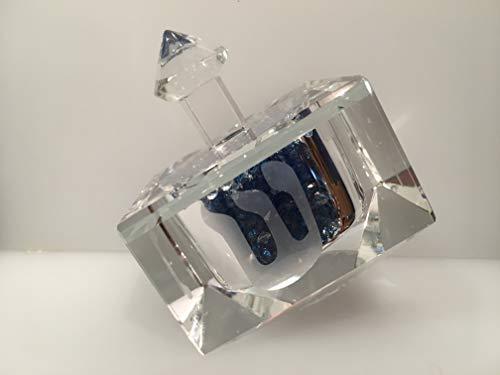 Simon Designs Blue Crystal Dreidel