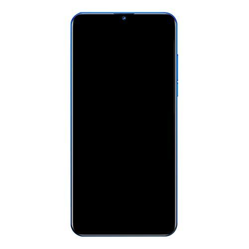 Huante MT6580A MT6580A Quad Core Android 6.0 3G Delantero 5MP Trasero 8MP Teléfono Móvil Azul Enchufe UE 6.26 pulgadas HD + 2GB + 16GB