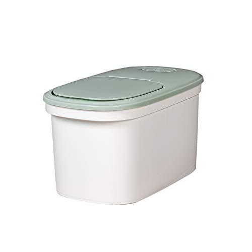 YUMEIGE Caja de almacenamiento de cosméticos Cubo de arroz, Hogar 20 Kg Tanque de almacenamiento de arroz Tarro de harina, caja de almacenamiento sellada a prueba de humedad e insecto, caja de arroz C