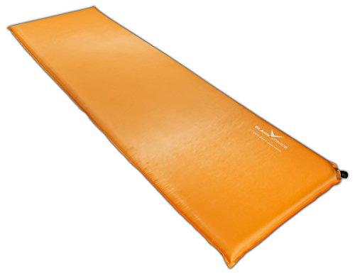 Black Crevice selbstaufblasbare Luftmatratze, orange, 3 cm