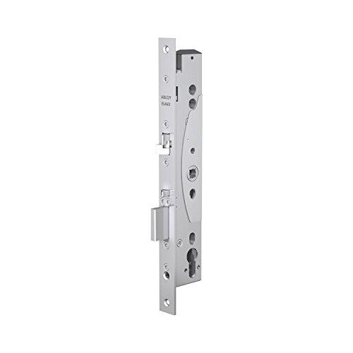 Cerradura de seguridad eléctrica EL 460, DM 35, Stulp 24 x 300 mm, acero cromado y acero inoxidable.