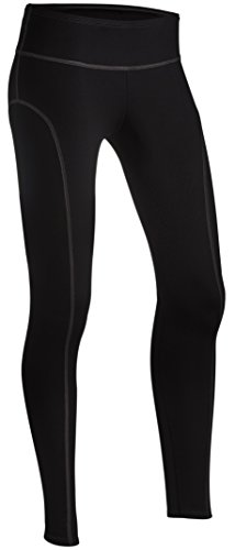 ColdPruf Women's Quest Performance Activewear Ankle Length Pant, Black, Medium