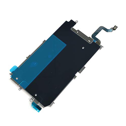 Screen Back Classic Metal Plate with Heat Shield/Home Button Flex Cable Preinstalled Replacment Part for iPhone 6 (4.7'')